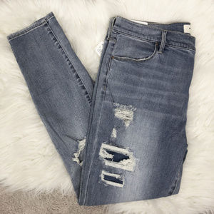 Pac Sun Perfect Fit Distressed Skinny Jeggings